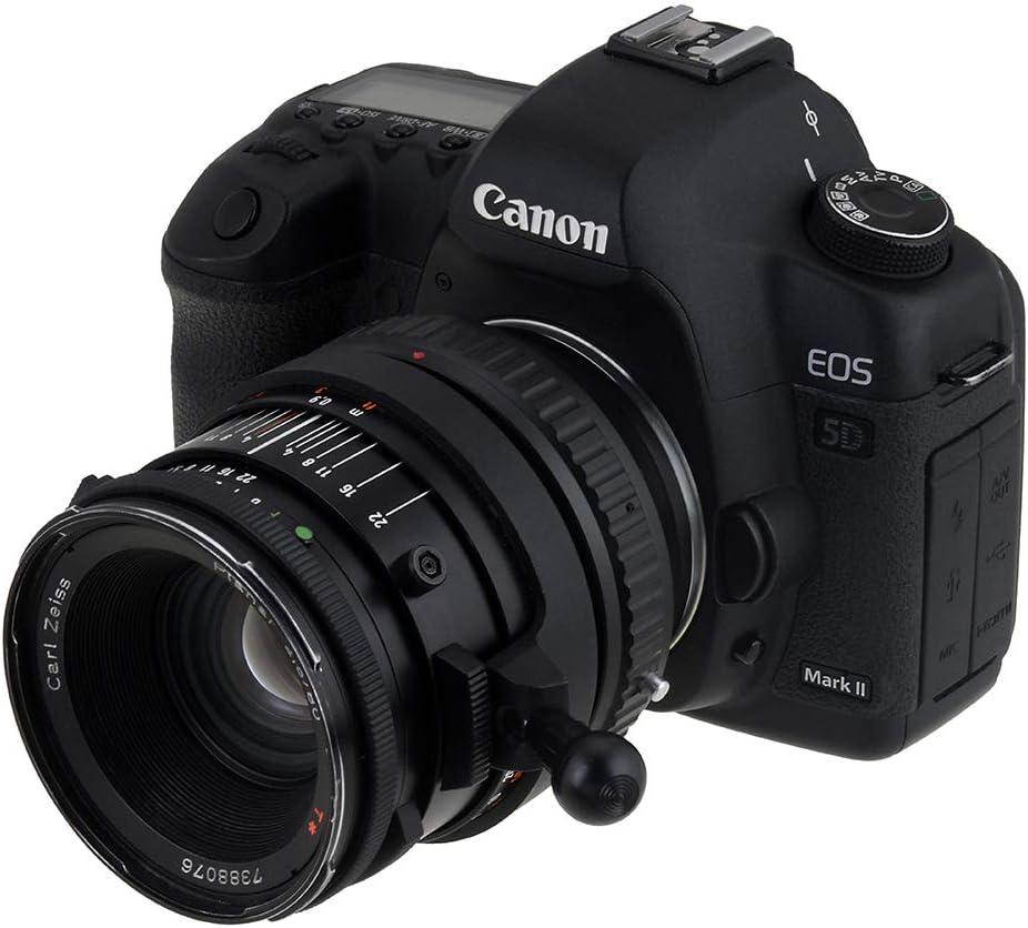 1DC XSi Rebel XT T4 50D XTi D30 Hasselblad Lens to Canon EOS EF Cameras IV 60DA D60 1DS 20DA 40D T3i 1DX T1i T4i 30D T3 T1 Mark II III 5D fits Canon EOS 1D T2i Fotodiox Lens Mount Adapter Mark III 60D 20D Mark II 7D 10D