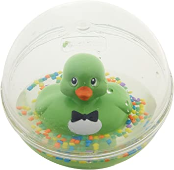 Fisher-Price Patito a Flote verde, juguete de baño para bebé ...