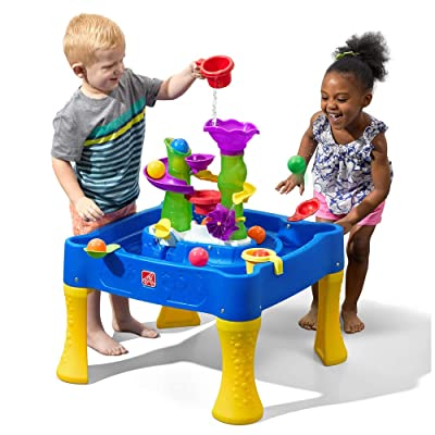 Step2 Rise & Fall Water & Ball Table | Kids Outdoor Water Table: Toys & Games