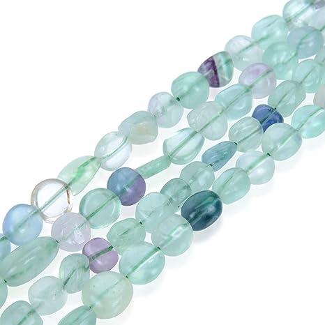 2pcs Colorful Turquoise Natural Stone Gemstone Teardrop Beads Jewelry Pendant