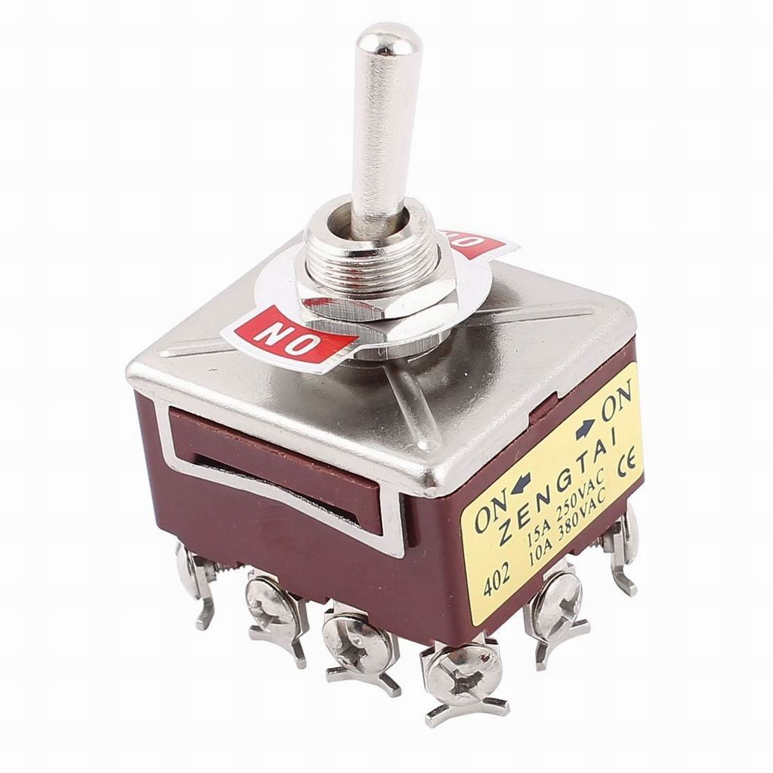 Uxcell A12072300ux0197 Spst Momentary Black Push Button Switch 5 On Off Switches Piece Ac 125v 1