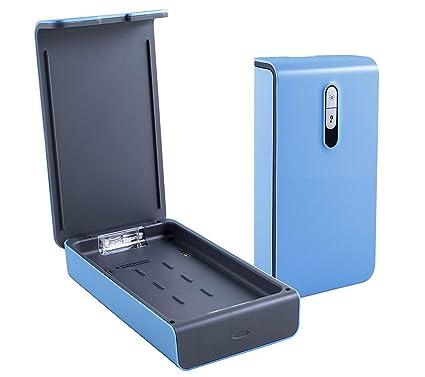 Teléfono celular portátil UV Sanitizer, esterilización con función de aromaterapia y cargador USB para teléfonos