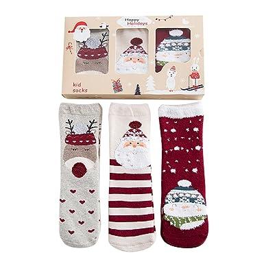 Amazon.com: SoxDaddy Kids Thick Warm Crew Socks for 1-12 Years ...