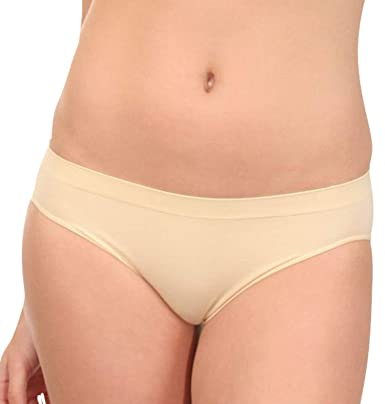 Schlussverkauf neueste art zuverlässiger Ruf R-Dessous 6 Stück Damen Slips Set weiss Seamless Microfaser Unterwäsche