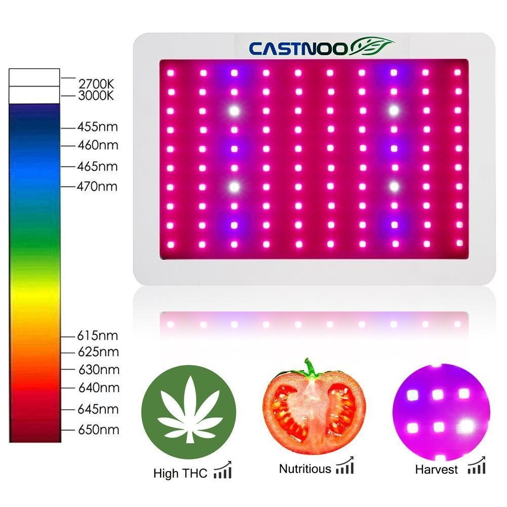 500w LED Grow Light, Plant LED Grow Light Kit, Hydroponic Grow Light, Indoor Plant Grow Light Panel, Full Spectrum with UV IR for Green House Veg, Flower and indoor plant by Otryad