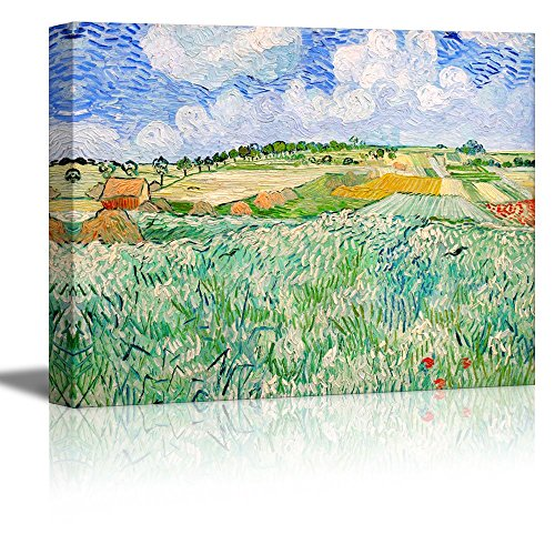 Plain Near Auvers by Vincent Van Gogh Oil Painting Reproduction