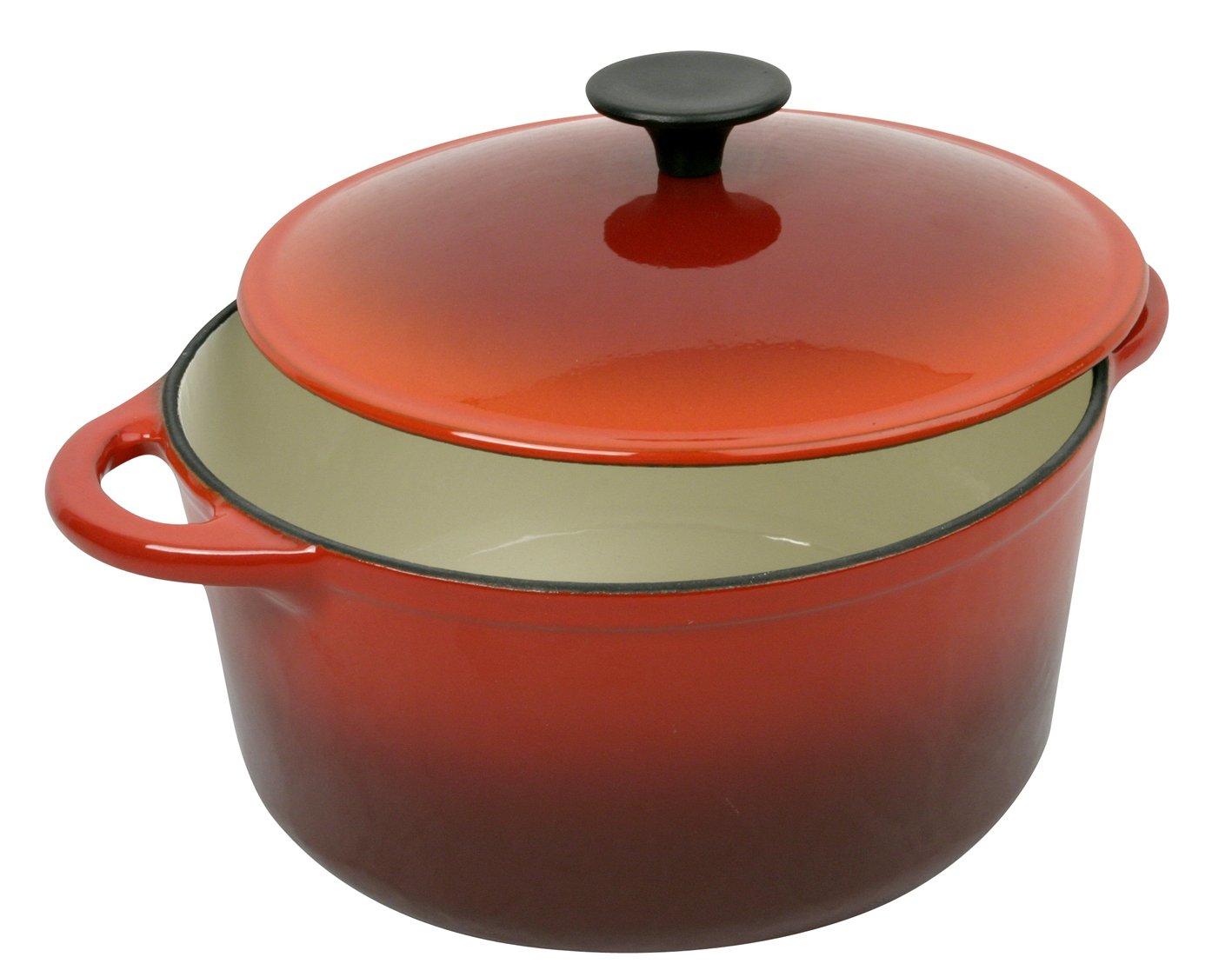 /ø 32 cm Colore: Rosso Pentola in coccio Tradifonte 501747 9 Litri