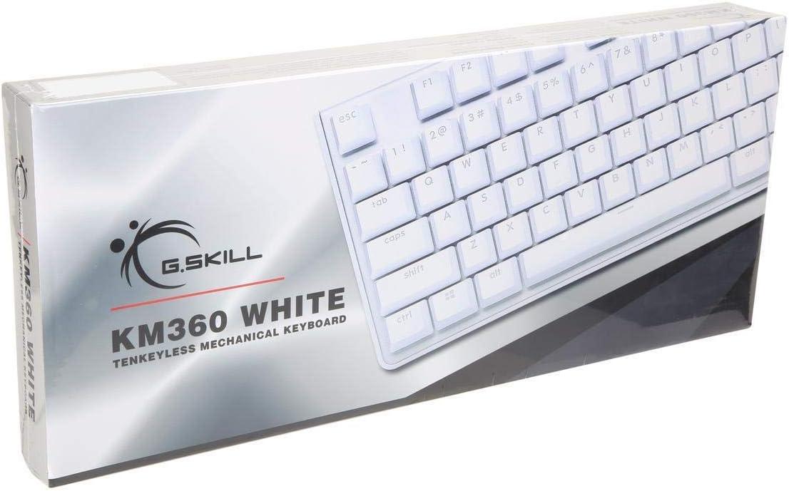 G.SKILL KM360 Profesional Tenkeyless teclado mecánico, Cherry ...