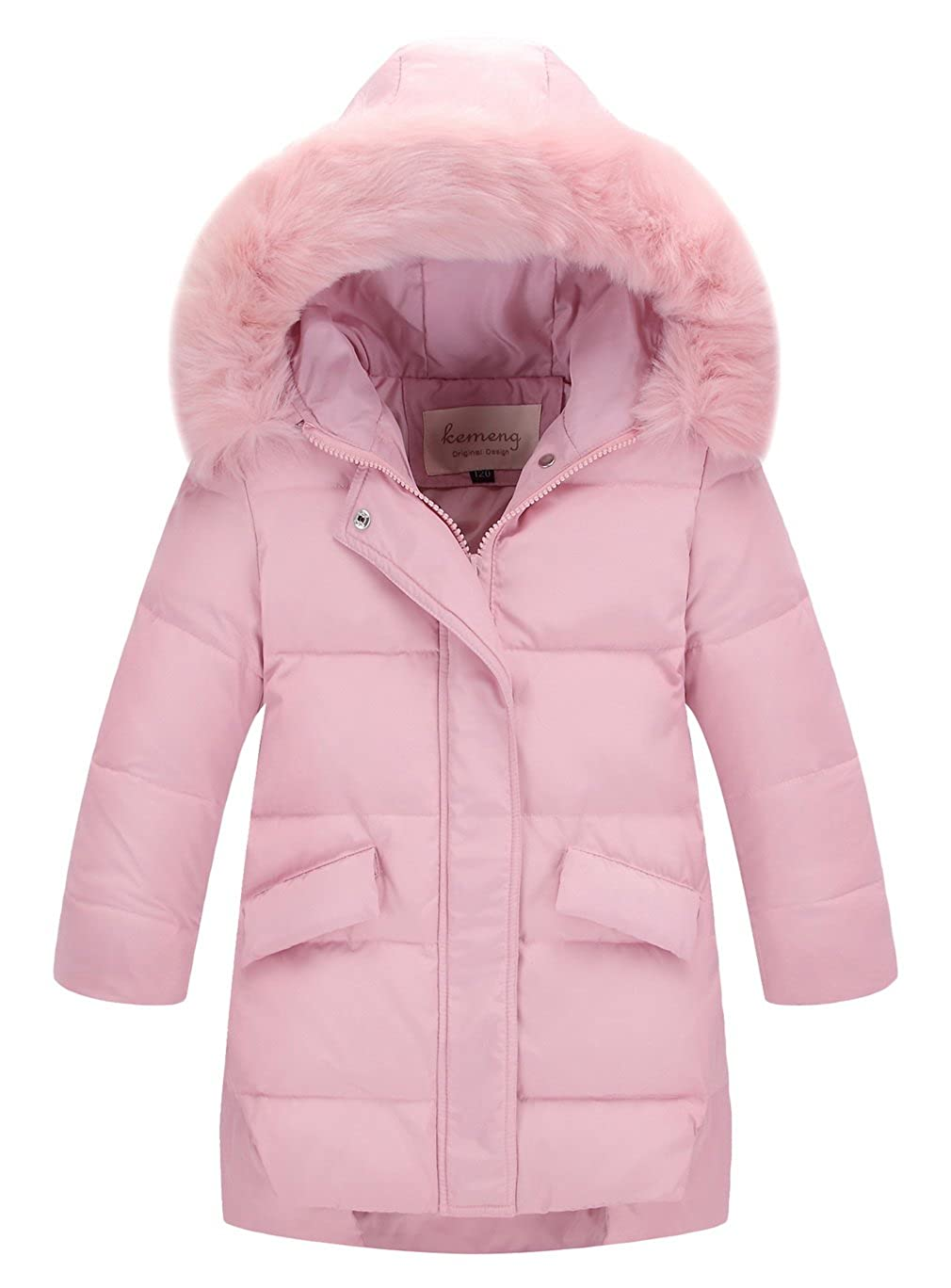 La Vogue Girls Winter Parka Down Coat Puffer Jacket Padded Overcoat