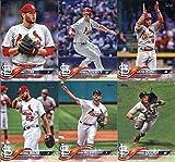 2018 Topps Complete (Series 1, 2, Update) St. Louis Cardinals Team Set of 35 Cards: Harrison Bader(#21), Dexter Fowler(#33), Michael Wacha(#51), Aledmys Diaz(#67), Adam Wainwright(#81), Jack Flaherty(#93), Lance Lynn(#134), Randal Grichuk(#147), Stephen Piscotty(#158), Jedd Gyorko(#189), Kolten Wong(#347), Breyvic Valera(#459), Paul DeJong(#462), Alex Mejia(#470), Yadier Molina(#544), Luke Weaver(#593), Greg Garcia(#616), plus more