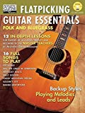 Flatpicking Guitar Essentials Book/CD (String Letter Publishing) (Acoustic Guitar) (Acoustic Guitar Private Lessons)