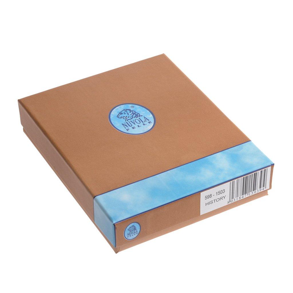 4515c4bb87 Nuvola Pelle Portafoglio uomo Fermasoldi in Vera Pelle Slim Clip a molla con  8 tasche Porta Carte Tessere Nero: Amazon.it: Valigeria