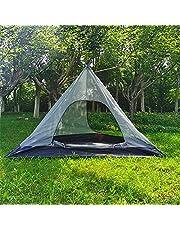Outdoor Tenten tipi Tent Waterdichte Vier Seizoenen Familie Piramide Tent Camping Backpacken Wandelen Bergbeklimmen Verwarmde Onderdak Smokey Schoorsteen Gemakkelijk Set Up D400*H220cm