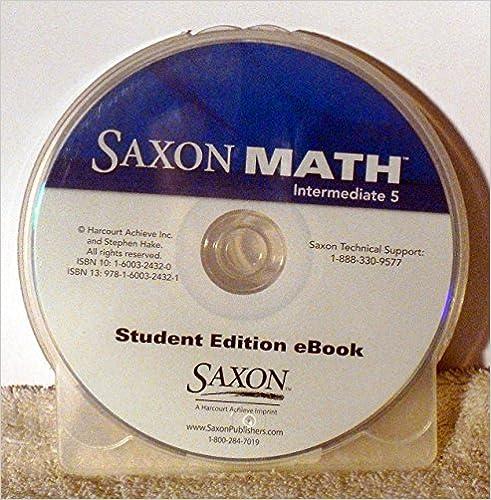 Saxon math intermediate 5 student edition ebook cd rom 2008 saxon saxon math intermediate 5 student edition ebook cd rom 2008 1st edition fandeluxe Gallery