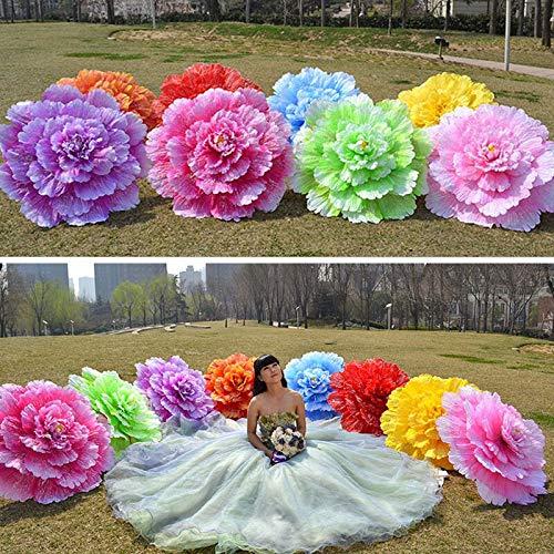 Party Diy Decorations - Creative Chinese Handmade Peony Flowers Bamboo Frame Umbrella Decorative Parasol Gift Women Wedding - Year Mat Japanese Seashell Christmas Chinese New Photo Tea Umbrella