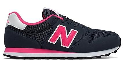 new balance azul y rosa