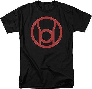DC Comics Green Lantern Red Lantern Corps Logo Adult T Shirt Tee