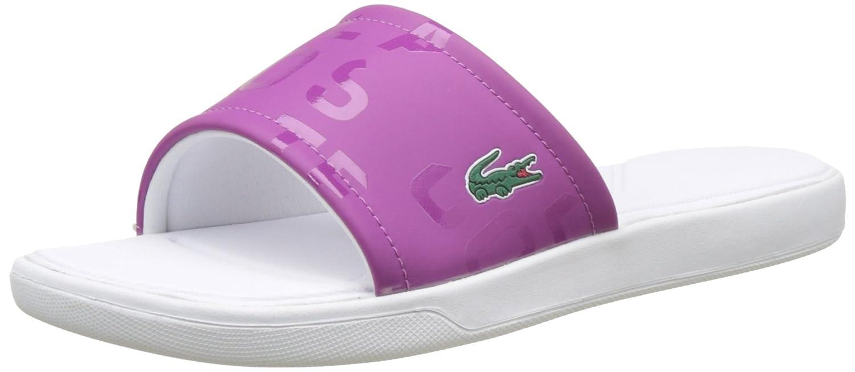 2ce8f14b788e2e Lacoste Women  s L.30 Slide 117 1 CAW PURP Flip Flops
