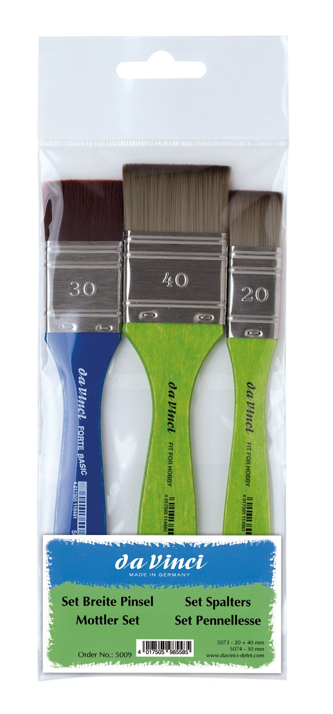 da Vinci Graphic Design Series 1005 Pastel Blending Applicator, with Blue Handle and One Head (1005-0) da Vinci Brushes