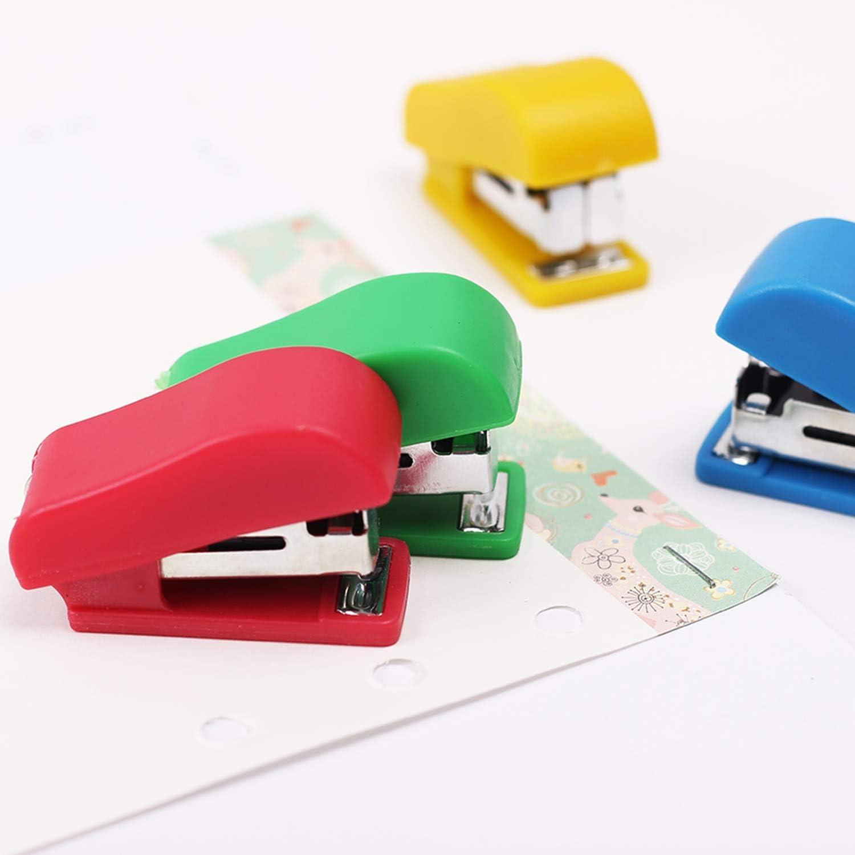 Mini Small Stapler Useful Mini Stapler Staples Set Office Binding F4L1 Q4K1