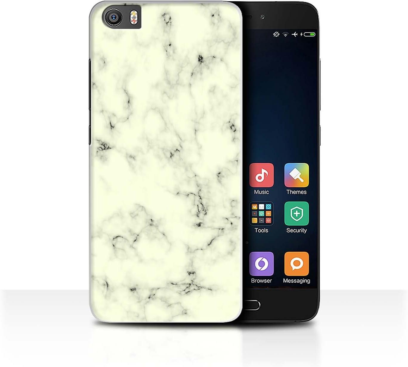 Stuff4 Carcasa/Funda Dura para el Xiaomi Mi5/Mi 5 / Serie: Mármol Rock Granito Efecto: Amazon.es: Electrónica