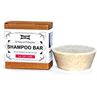 Golisoda Biodegradable Non Toxic/Cruelty Free/Palm Oil Free All Natural Probiotics Shampoo Bar for Dry Hair