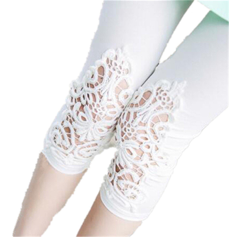 BCVHGD Plus Size Leggings S- 7XL Leggings Women Cotton Legging Pants Women's Summer Jeggings Solid Color 7XL 6XL 5XL 4XL 3XL XXL XL L M white6 XXL Cosy