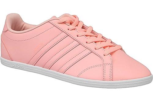 Adidas VS CONEO QT W - Zapatillas Deportivas para Mujer, Rosa - (CORNEB/CORNEB/FTWBLA) 40: Amazon.es: Deportes y aire libre