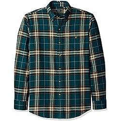 Arrow Men's Long Sleeve Plaid Flannel Shirt