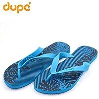 Dupe Blue Flip Flop Thong Design Slipper for Mens