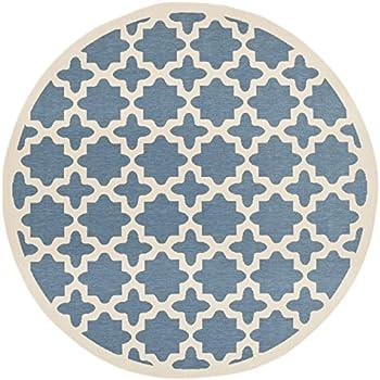 Amazon Com Safavieh Courtyard Collection Cy6913 243 Blue