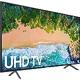 "Samsung UN50NU7100FXZC 50"" 4K Ultra HD Smart LED TV (2018), Charcoal Black [CA Version]"