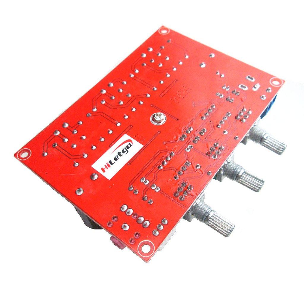 Hiletgo Tpa3116d2 50w X 2 100w 21 Channel Digital Audio Class D Amplifier Circuit Tpa3118d2 Subwoofer Power Amp Electronics