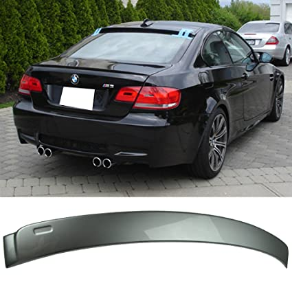 Pre Painted Roof Spoiler Fits 2007 2013 3 Series E92 2dr Ac Ac Style Painted Sparkling Graphite Metallic A22 Abs Rear Wing Window Roof Top