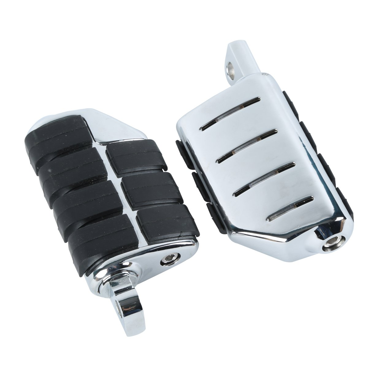 XMT-MOTO New Anti Vibration Rubber Lion Paw Foot Rest Pegs For Harley Softail Dyna