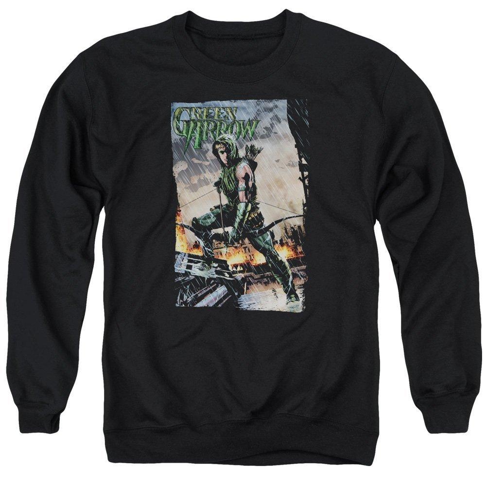 Fire And Rain Adult Crewneck Sweatshirt Justice League of America