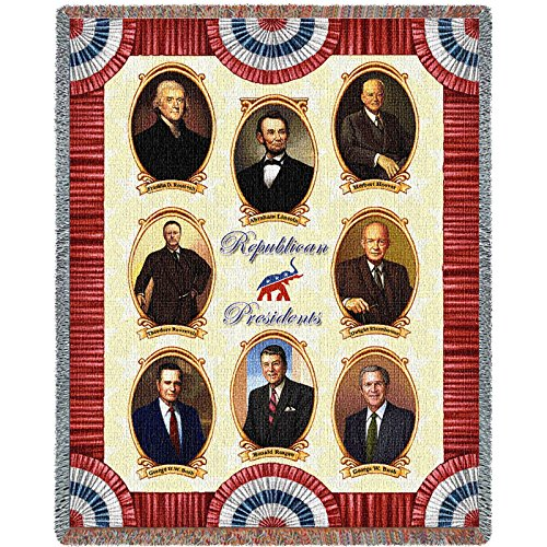 Pure Country Great Republicans I Blanket Tapestry Throw