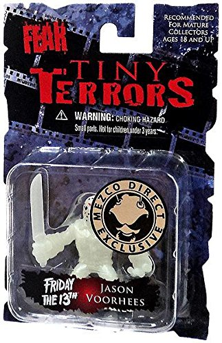 Mezco Cinema Of Fear Tiny Terror Action Figures - Jason Voorhees