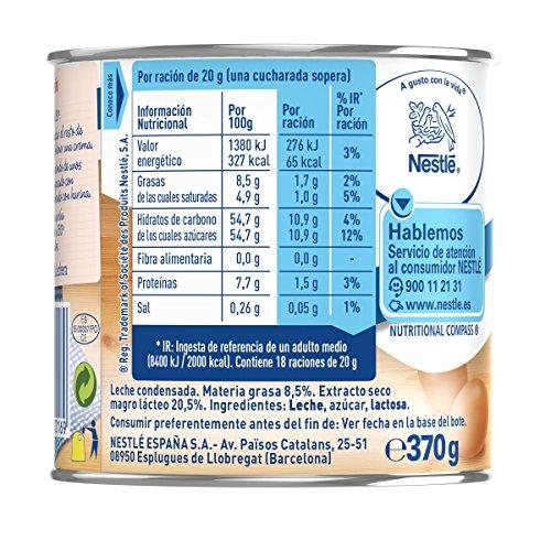La Lechera Nestlé Leche Condensada Entera - 370 g: Amazon.es: Amazon Pantry