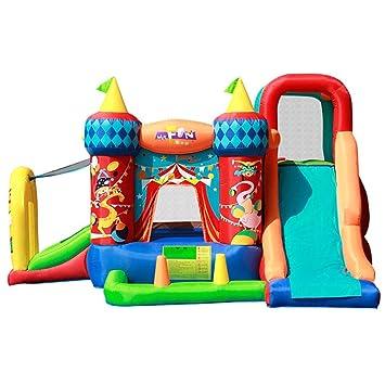 Tobogán inflable Castillo Inflable para Niños Niños Área De Juegos ...