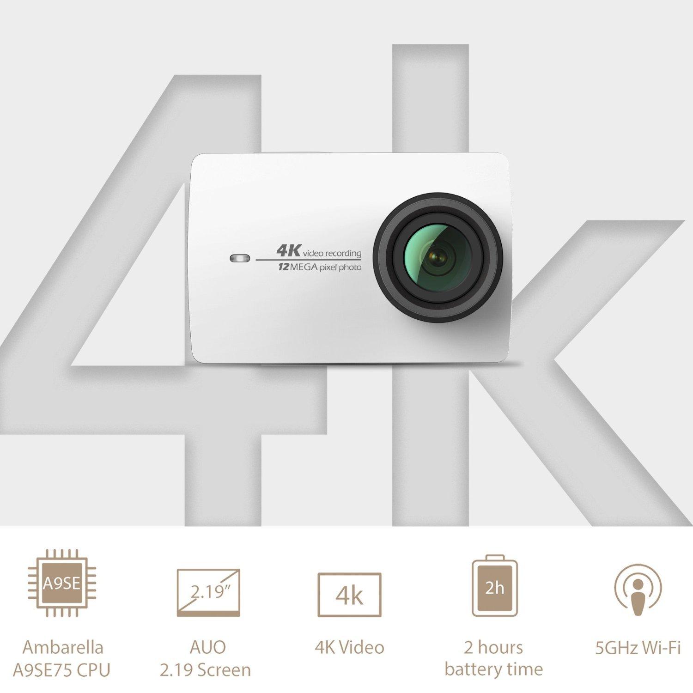 Ollivan Xiaomi Yi Sports Camera 2 Ii 4 K 4k Action Full Hd 1080p 12 Mp International Model White Outdoors