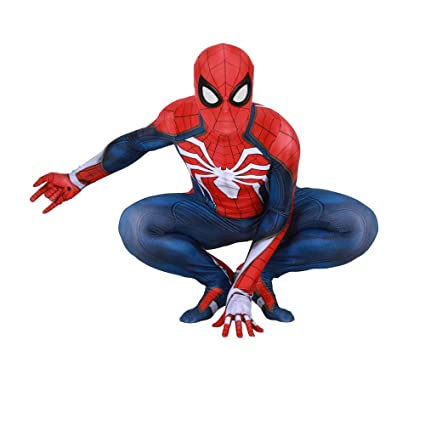 ZOULYD Capitán América: Guerra Civil PS4 Disfraz De Spiderman ...
