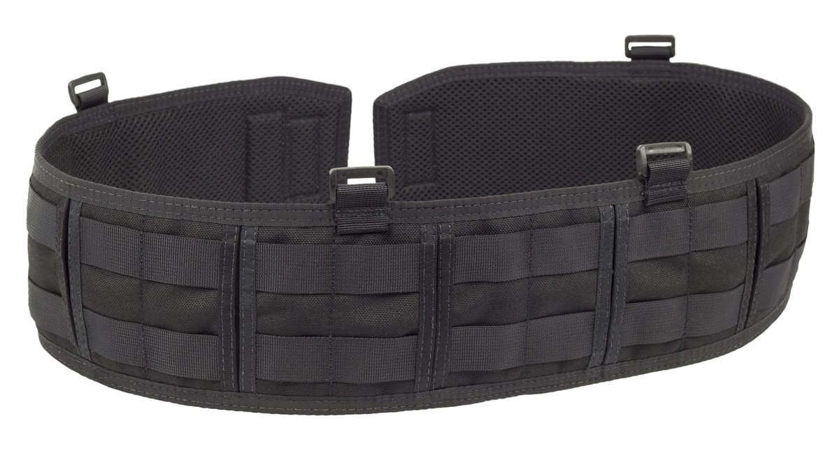 Elite Survival Systems ELS3031-B-M Sidewinders Battle Belt, Black, Medium