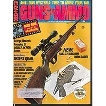 GUNS & AMMO Heckler Koch 22 Magnum Desert Quail Remington 660 Hawes 12 1974