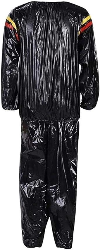 Herren Trainingsanzug Und Hosen Set PVC Fitness Kleidung