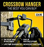 CROSSBOW HANGER - THE BEST ONE YOU CAN BUY - NEW FOR 2017 - NO NEED TO HOLD...