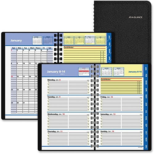 At-A-Glance QuickNotes Self-Management System Planner - Weekly, Monthly - 4.87