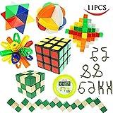Joyin Toy IQ Challenge Set 11 Pcs Kids Educational puzzle Toys for 5+ Year Olds With Bonus Timer