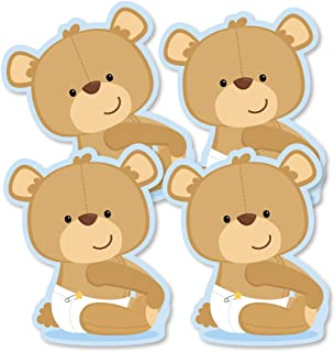 product image for Baby Boy Teddy Bear - Decorations DIY Baby Shower Party Essentials - Set of 20
