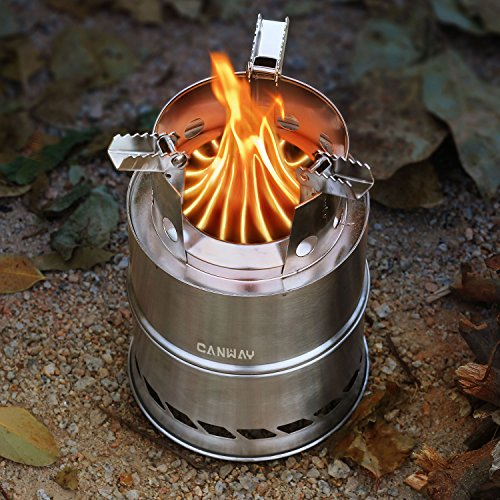 Canway Camping Stove Wood Stove Backpacking Stove